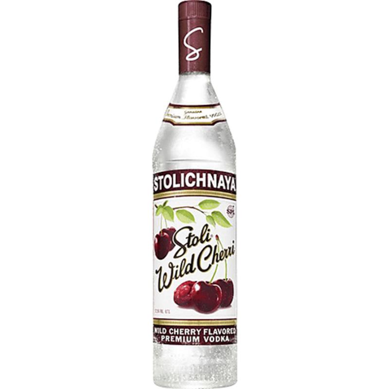 Stolichnaya Wild Cherri Cherry Flavored Vodka