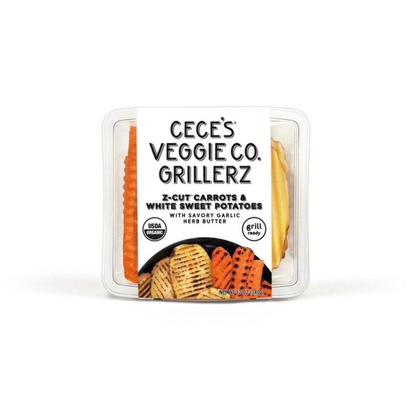 Cece's Veggie Co. Grillerz Carrot Sweet Potato