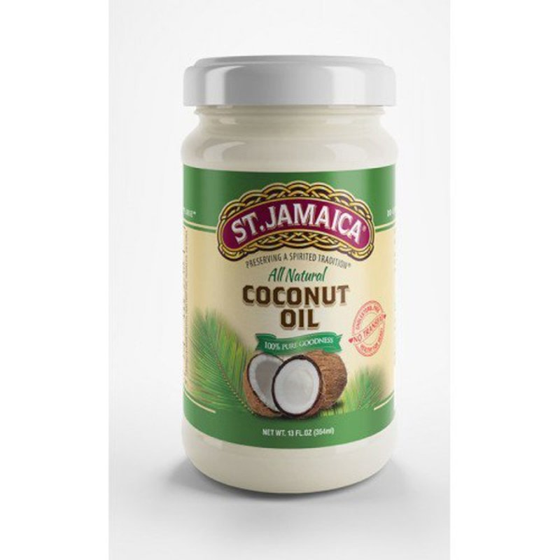 St.jamaica All Natural COCONUT OIL