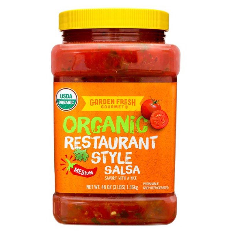 Garden Fresh Gourmet Organic Gourmet Salsa