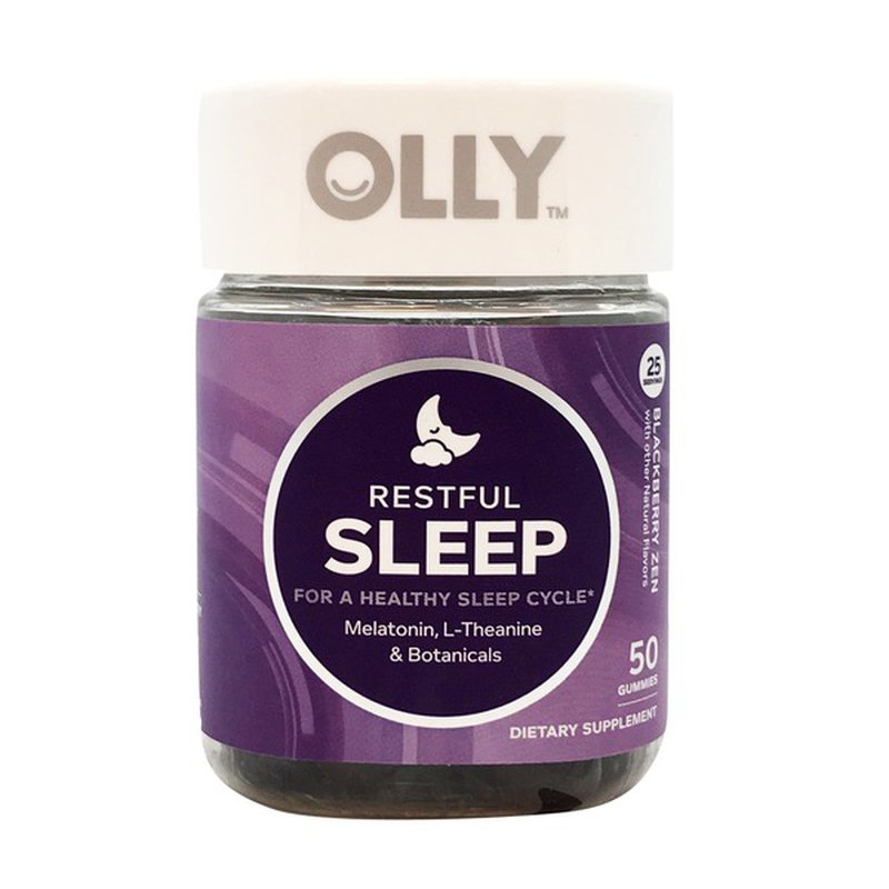 Olly Dietary Supplement Restful Sleep 50 Ct Instacart