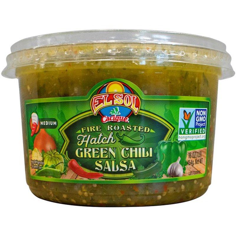El Sol Foods Hatch Green Chili Salsa