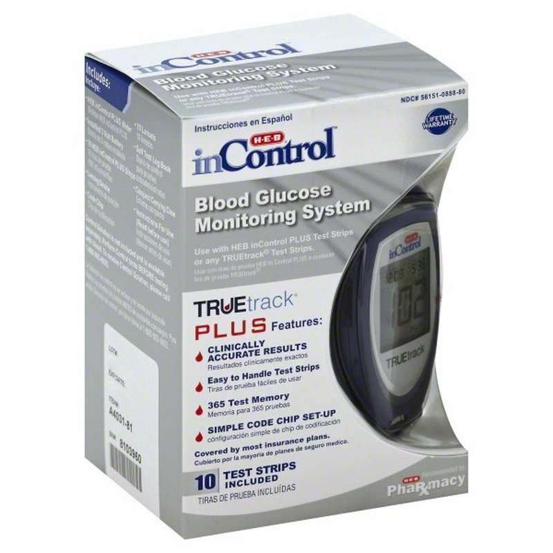 H-E-B In Control Blood Glucose Monitoring System