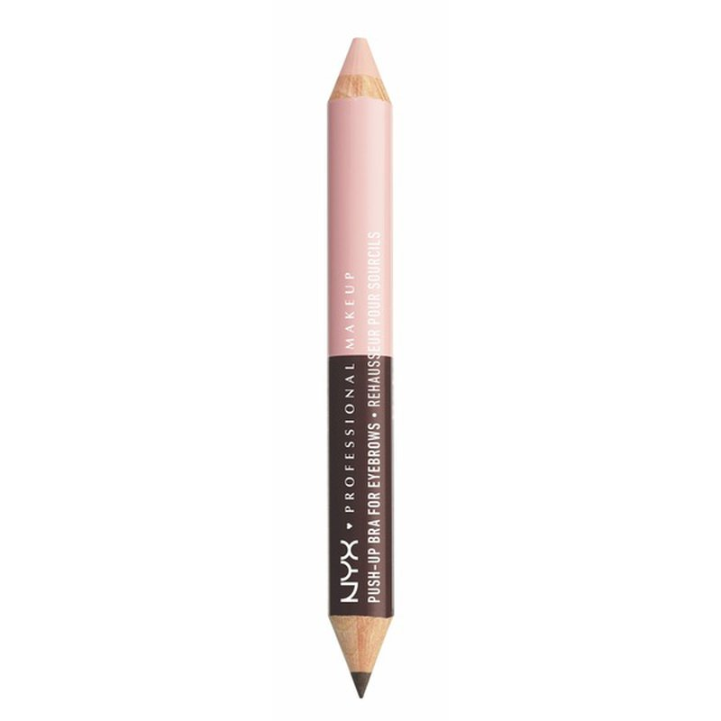 NYX Professional Makeup Push-up Bra For Eyebrows, Brown/pale Pink Highlighter Ebpb01