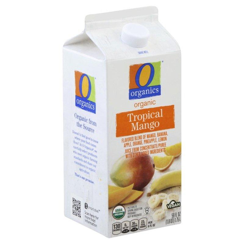O Organics Mango Blend Tropical Juice