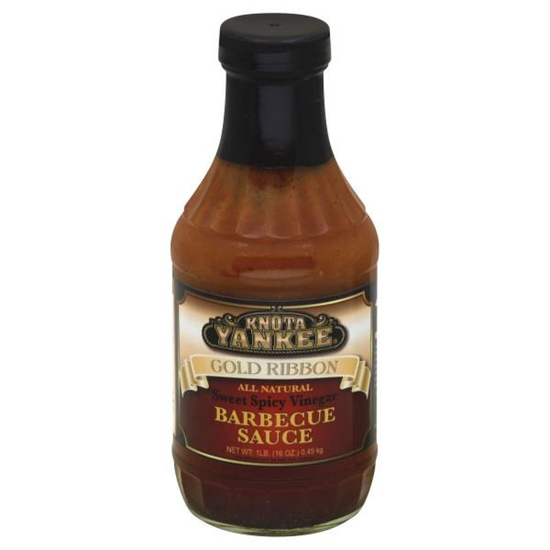 Knots Yankee All Natural Sweet Spicy Vinegar Bbq Sauce
