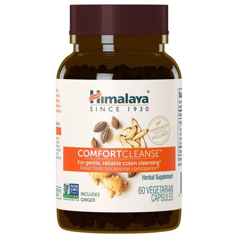 Himalaya Comfortcleanse Vegetarian Capsules Herbal Supplement