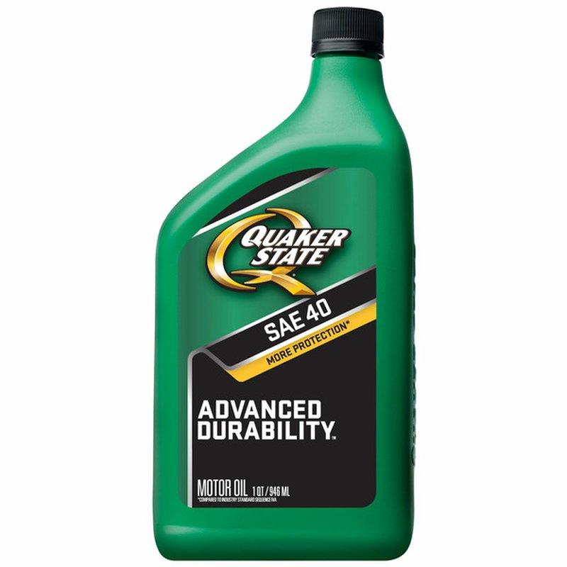 Quaker State SAE HD-40 Motor Oil