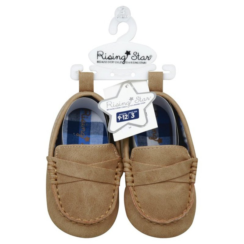 Rising Star Shoes, Shoe Size 3, 9-12