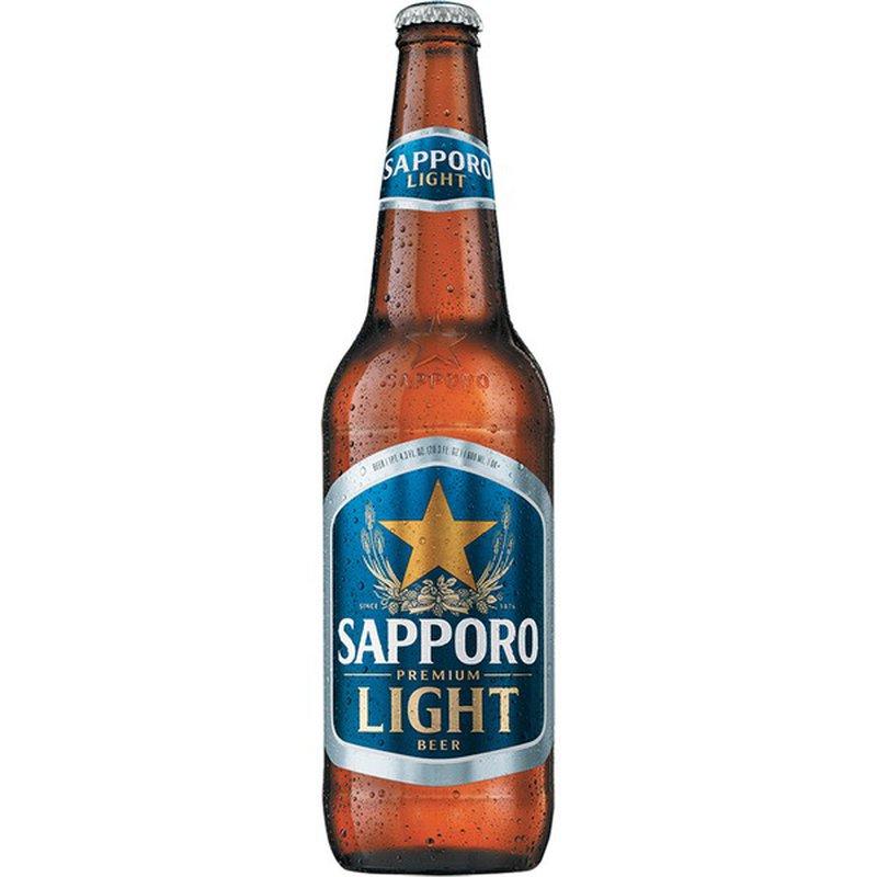 Sapporo Premium Light Beer