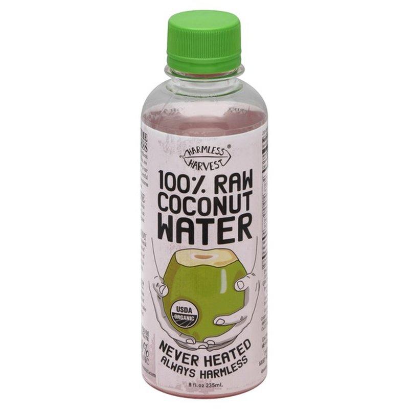 Harmless Harvest Coconut Water, 100% Raw, Organic, Bottle