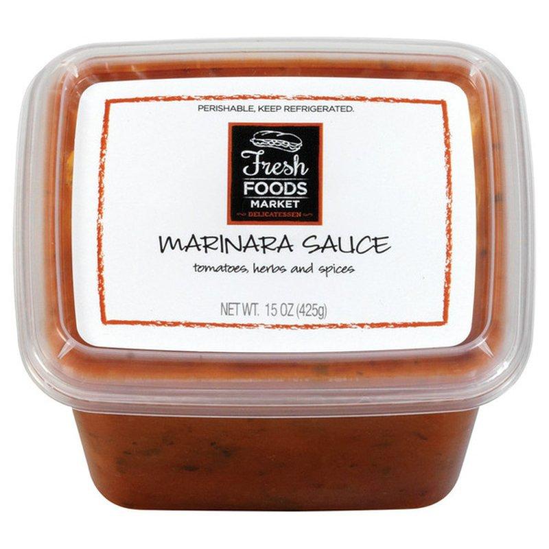 Fresh Foods Market Marinara Sauce