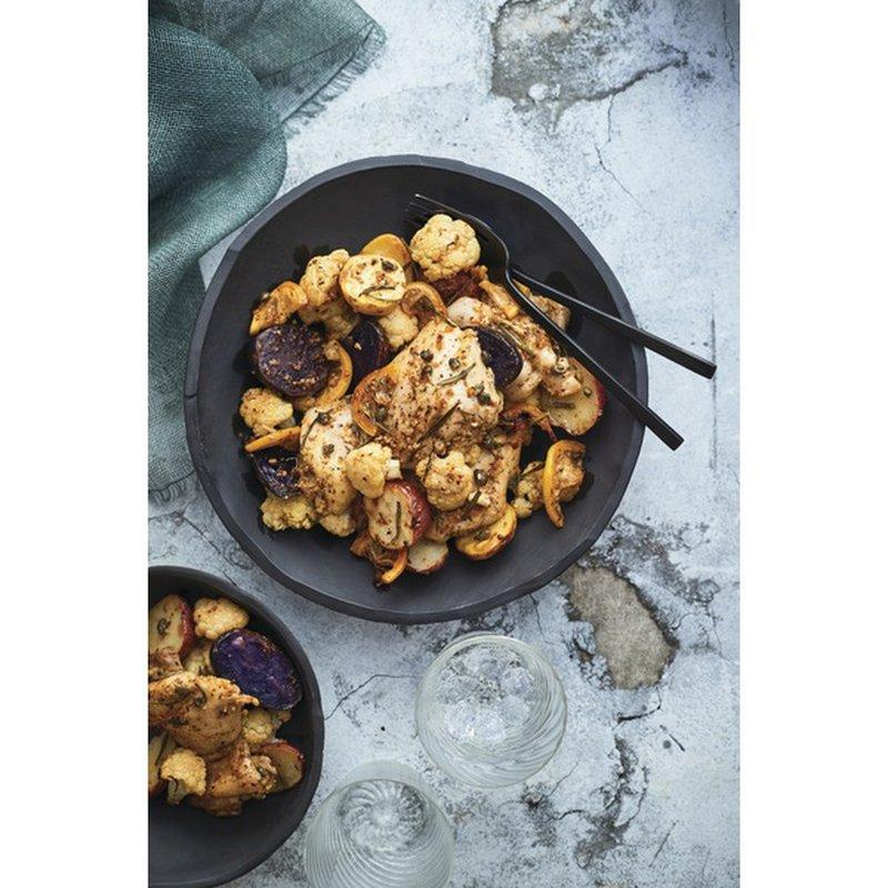 Publix Garlic Chicken With Rosemary Lemon Potatoes & Cauliflower
