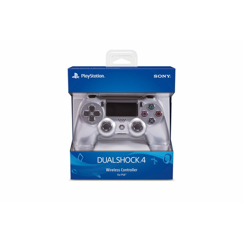 Sony Computer Entertainment White Dual Shock 4 Wireless Controller For Playstation 4