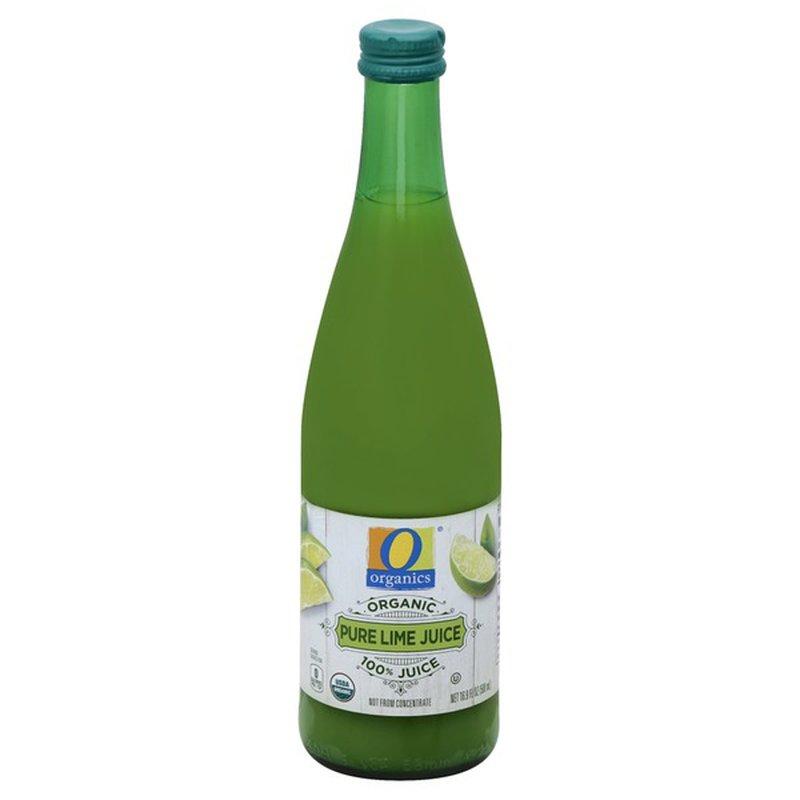 O Organics 100% Pure Lime Juice