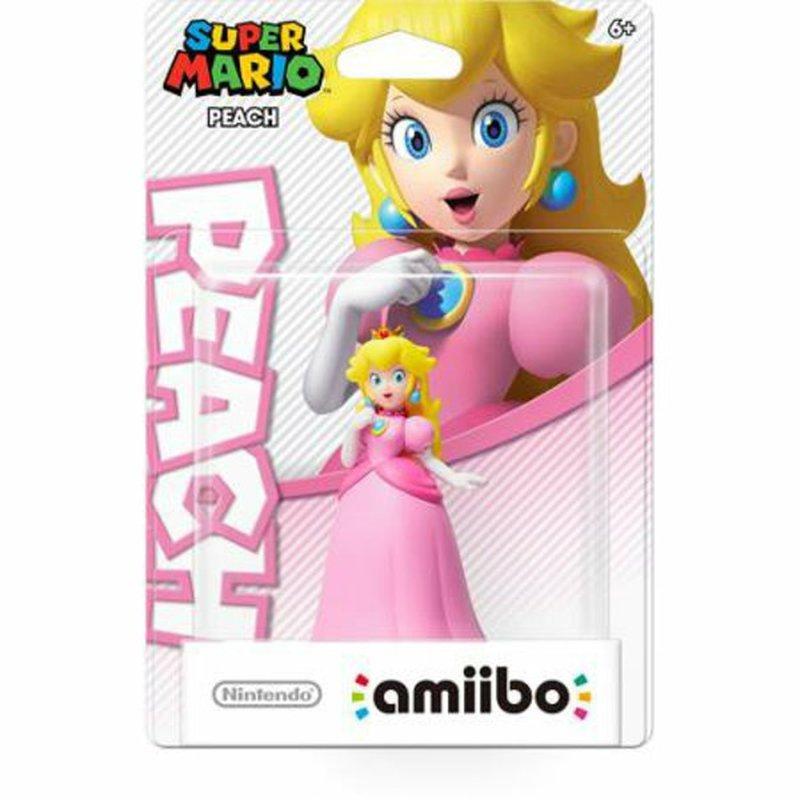 Amiibo Peach Super Mario Figure for Nintendo 3DS & Wii U