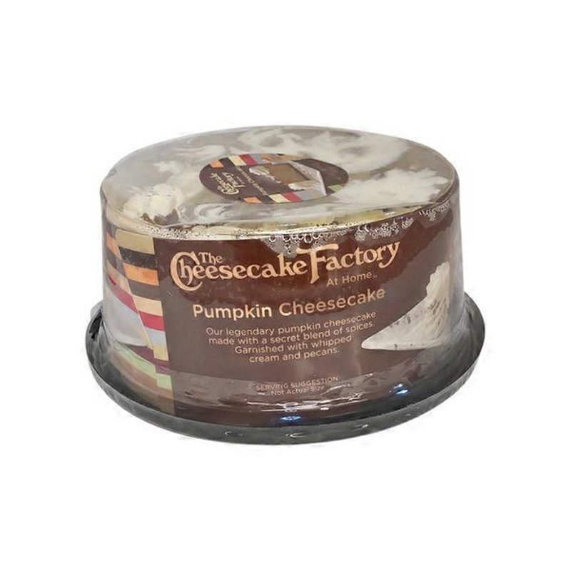 The Cheesecake Factory 6 I Pumpkin Cheesecake 26 Oz Instacart