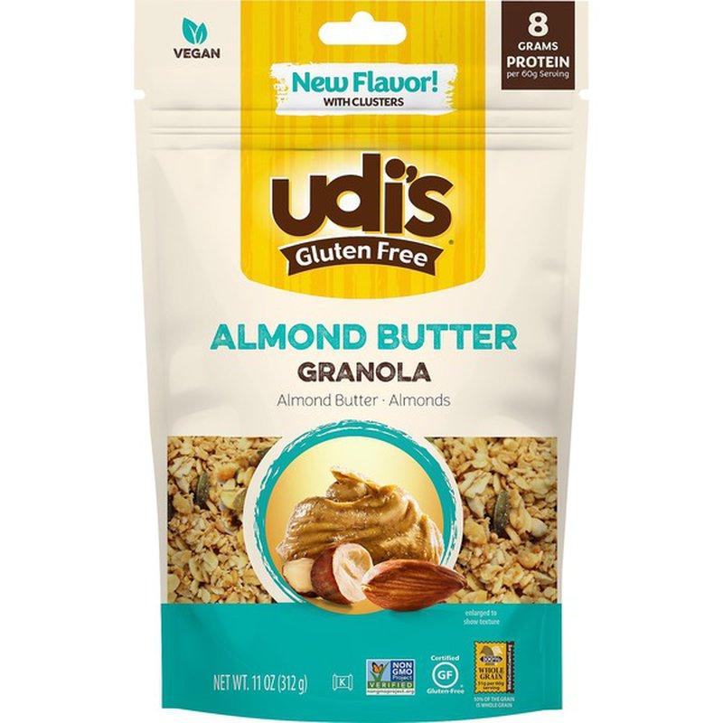 Udi S Gluten Free Almond Butter Granola 11 Oz Instacart