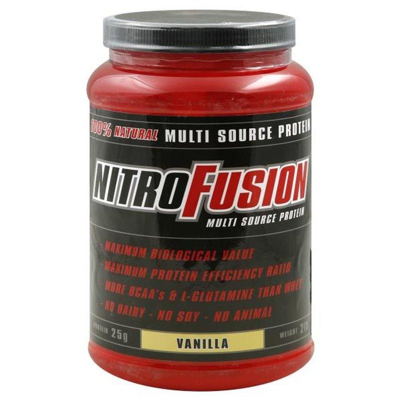 Nitro Fusion Plant Protein Vanilla