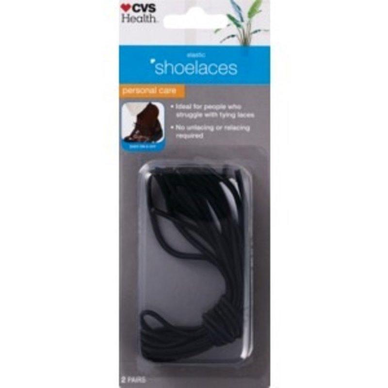 Cvs Pharmacy Elastic Shoelaces 2 Pairs From Cvs Pharmacy