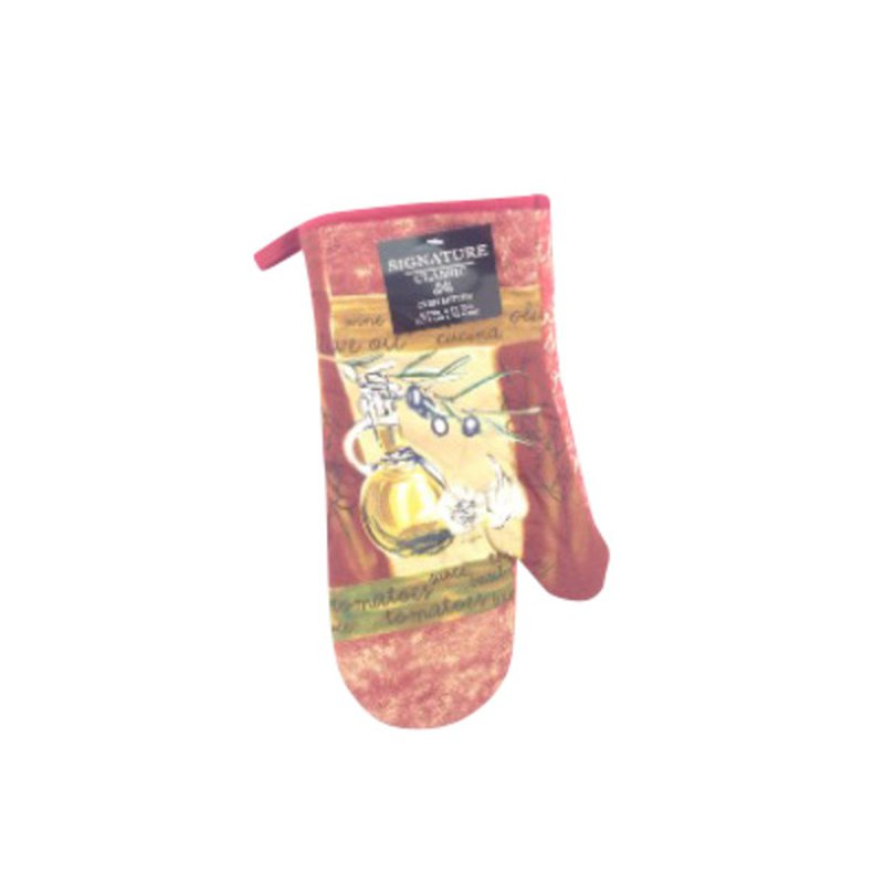Signature Collection Olive Oil & Garlic Design Ovenmitt