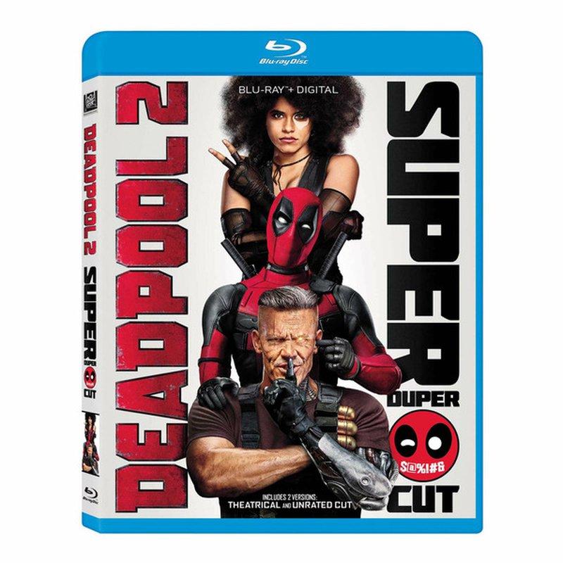 20th Century Fox Deadpool 2 Blu-Ray DVD