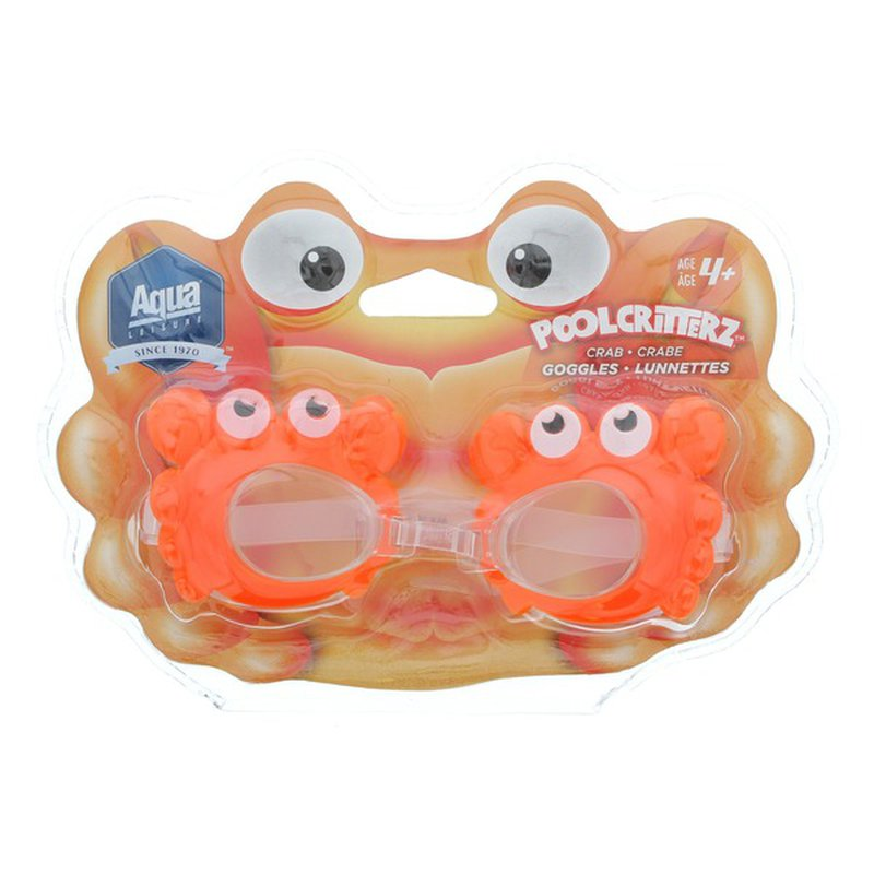Aqua Leisure Pool Critterz Children's Swim Goggles