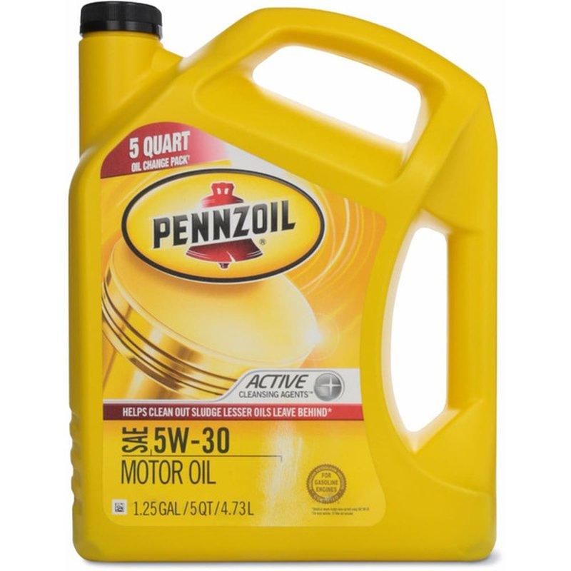 Pennzoil SAE 5W-30 Motor Oil