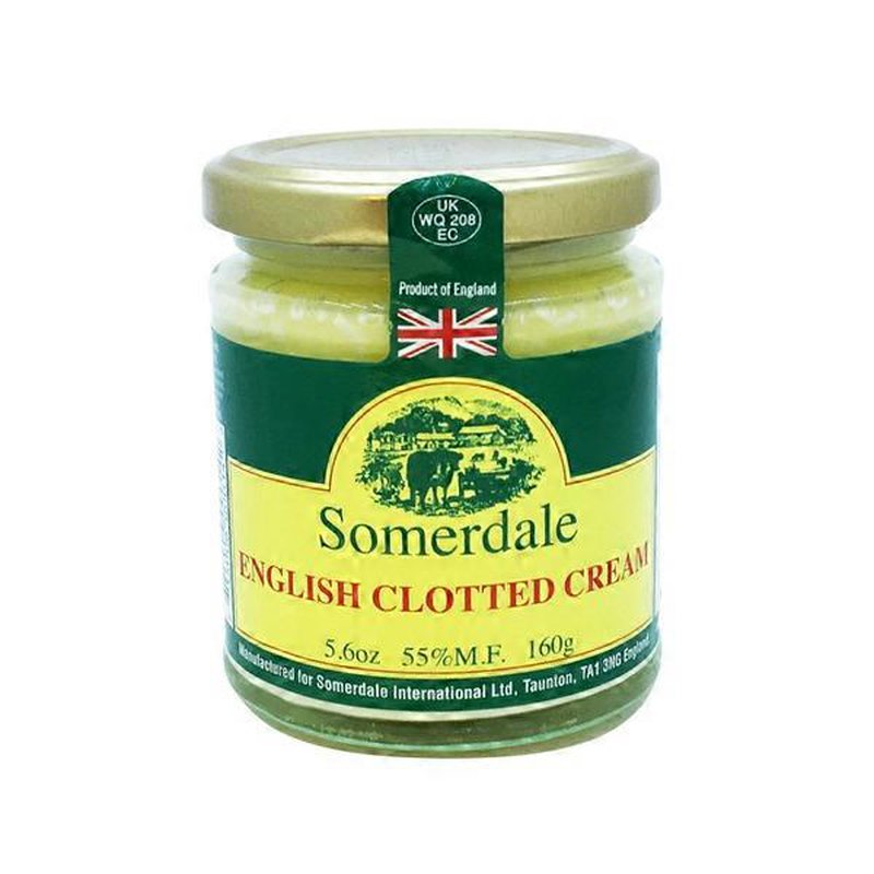 Somerdale English Clotted Cream 5 6 Oz Instacart