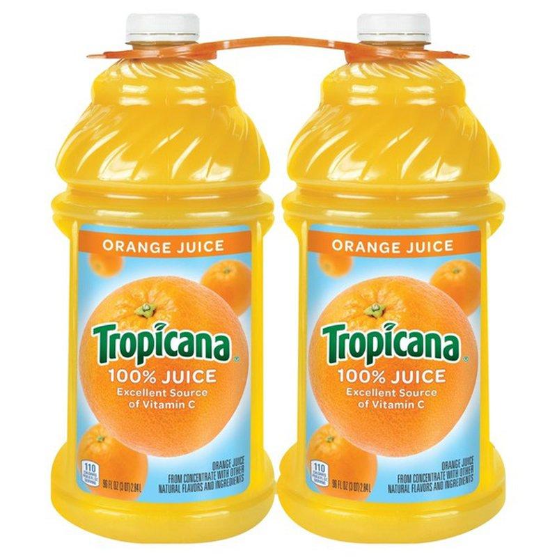Tropicana 100% Juice Orange (196 oz) from BJ's Wholesale ...