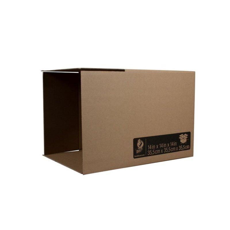 Kraft Corrugated Folded Shipping Boxes