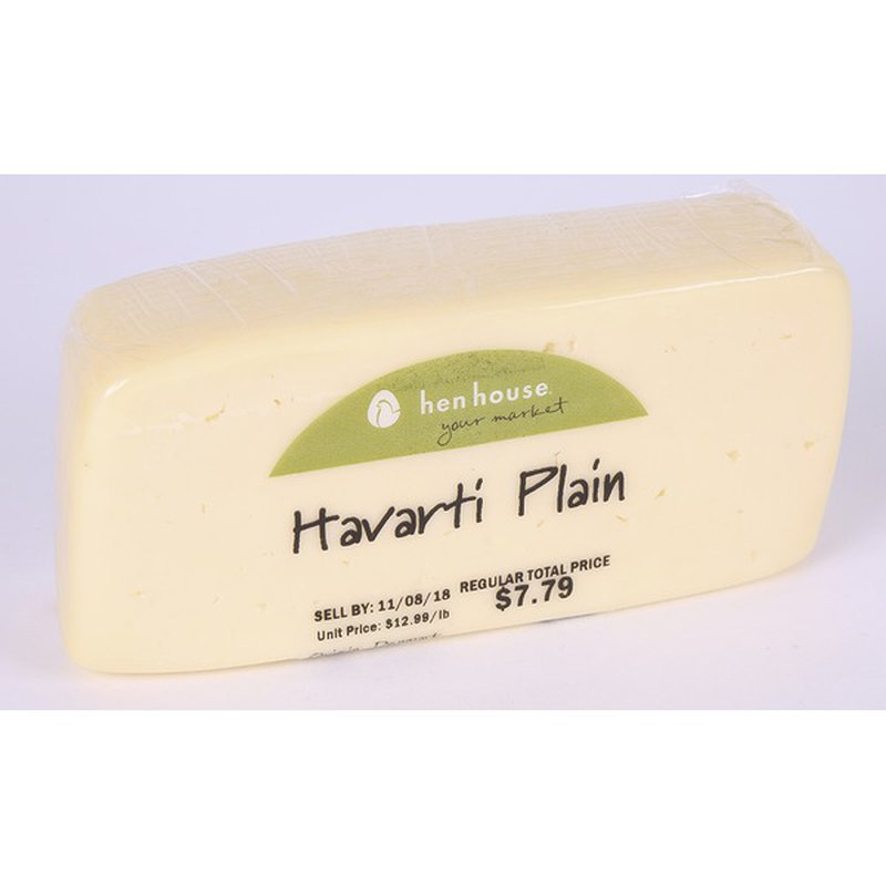 Plain Havarti Cheese
