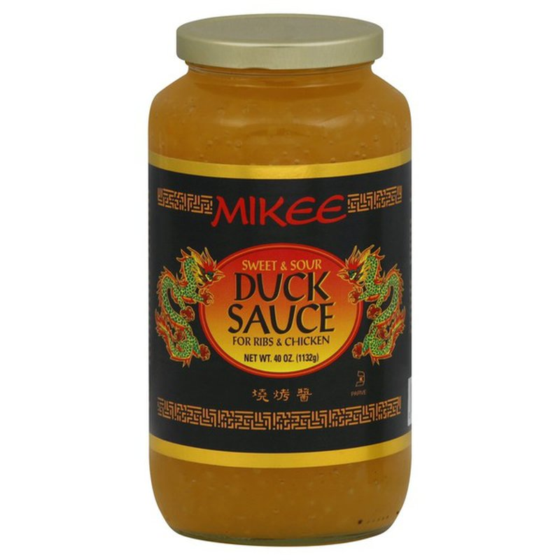 mikee duck sauce sweet  sour 40 oz from smart  final