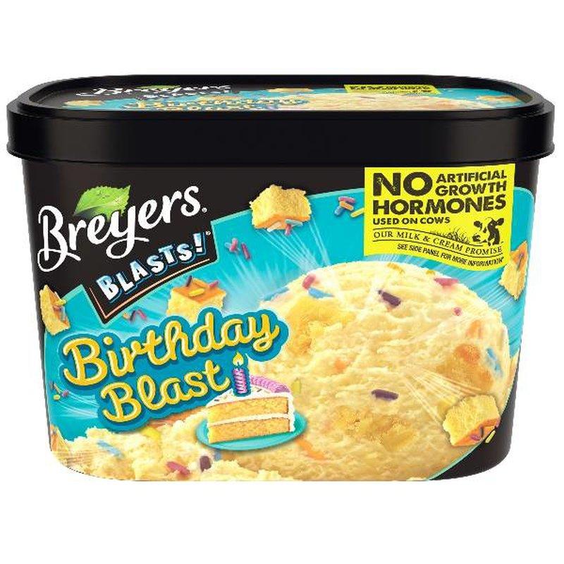 Stupendous Breyers Frozen Dairy Dessert Birthday Blast 48 Oz Instacart Funny Birthday Cards Online Alyptdamsfinfo