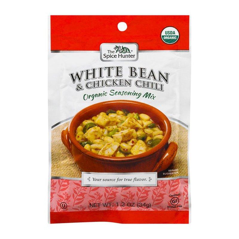 The Spice Hunter White Bean Chicken Chili Organic Seasoning Mix 1 2 Oz Instacart