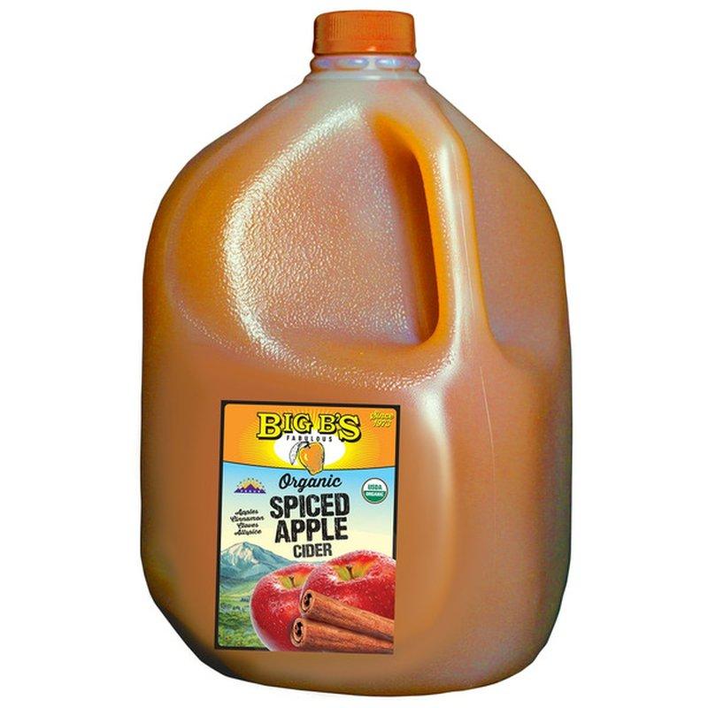 Big B's Spiced Apple Cider