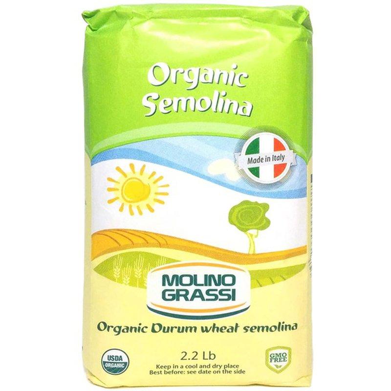 Molino Grassi Organic Durum Wheat Semolina