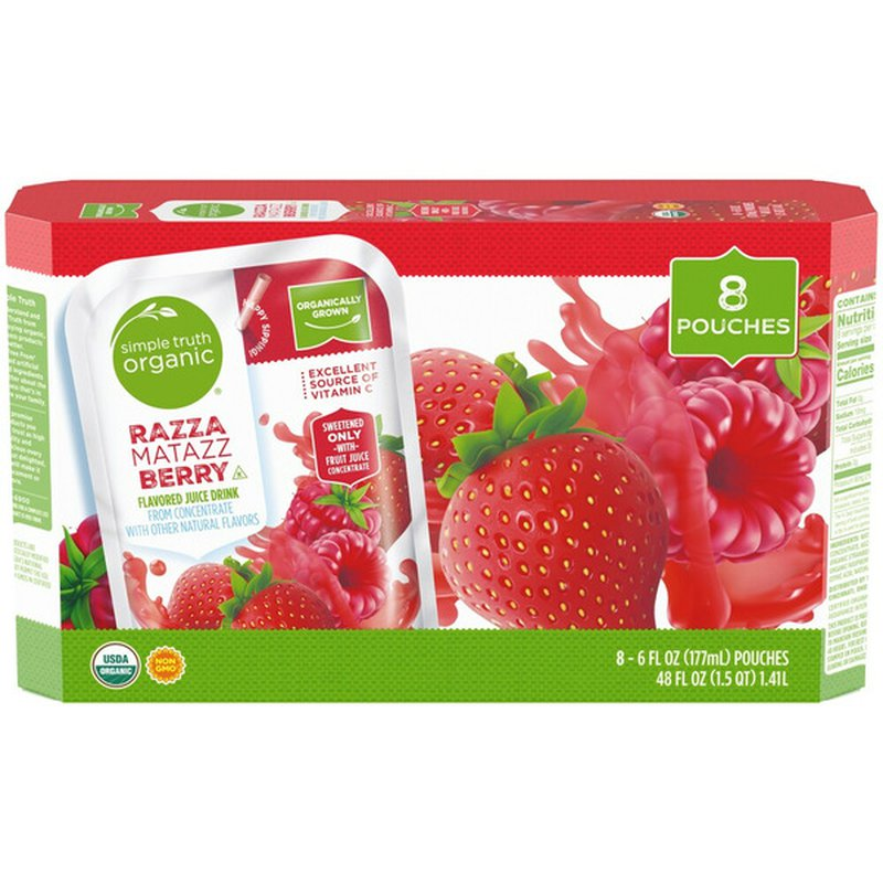 Simple Truth Organic Razza Matazz Berry Flavored Juice Drink From Concentrate