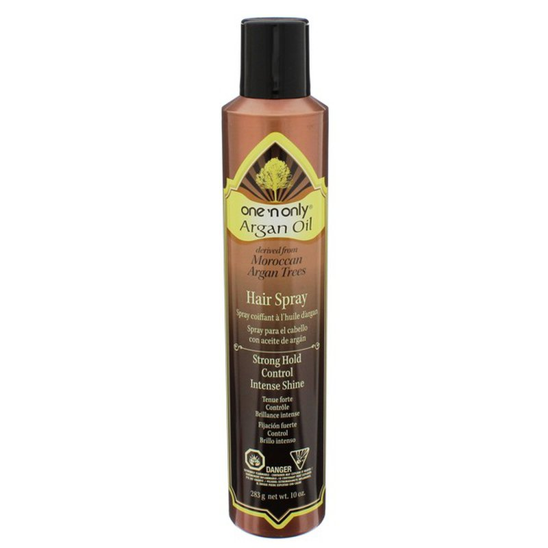 One 'N Only Strong Hold Control & Intense Shine Argan Oil Hair Spray