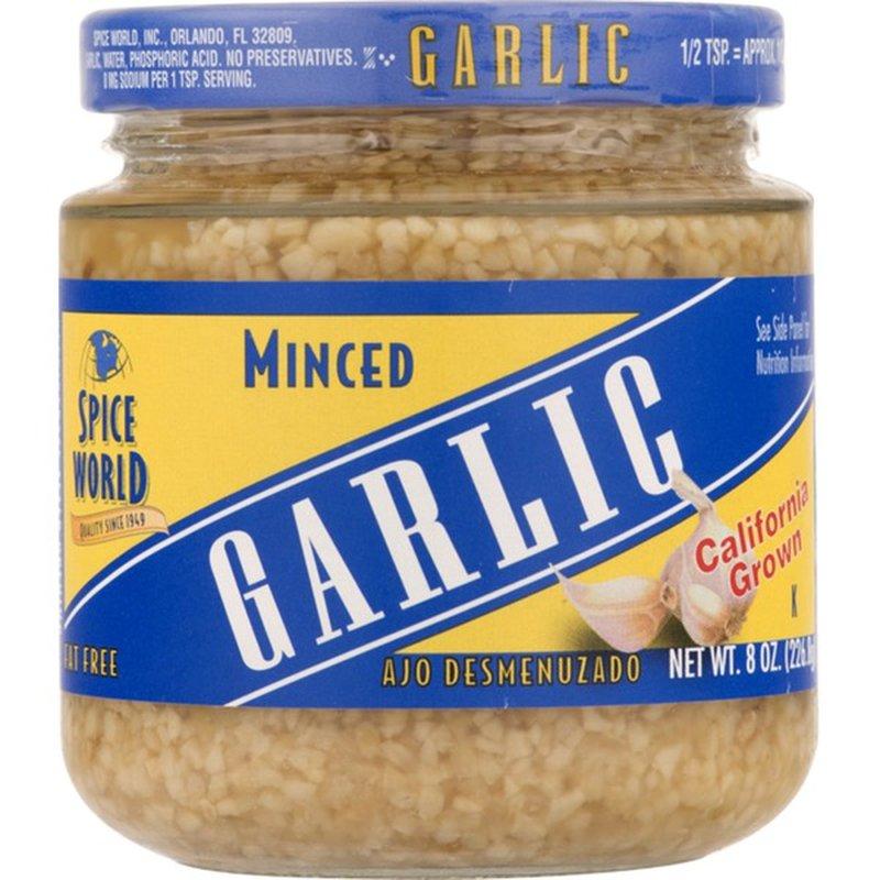 Pc Minced California Garlic