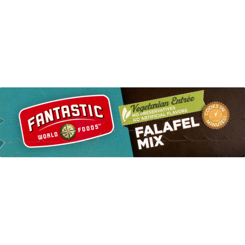 Fantastic World Foods Vegetarian Entree Falafel Mix