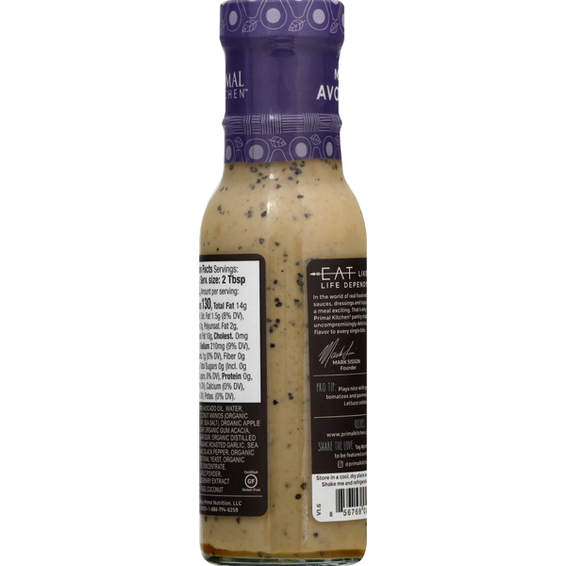 Primal Kitchen Dressing & Marinade, Caesar