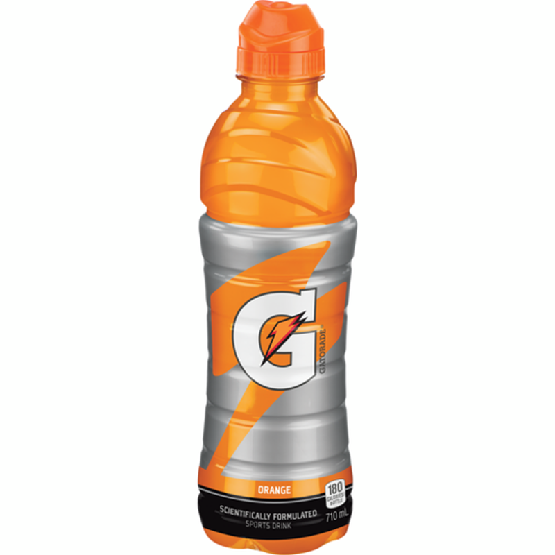 Orange Sport Bottle