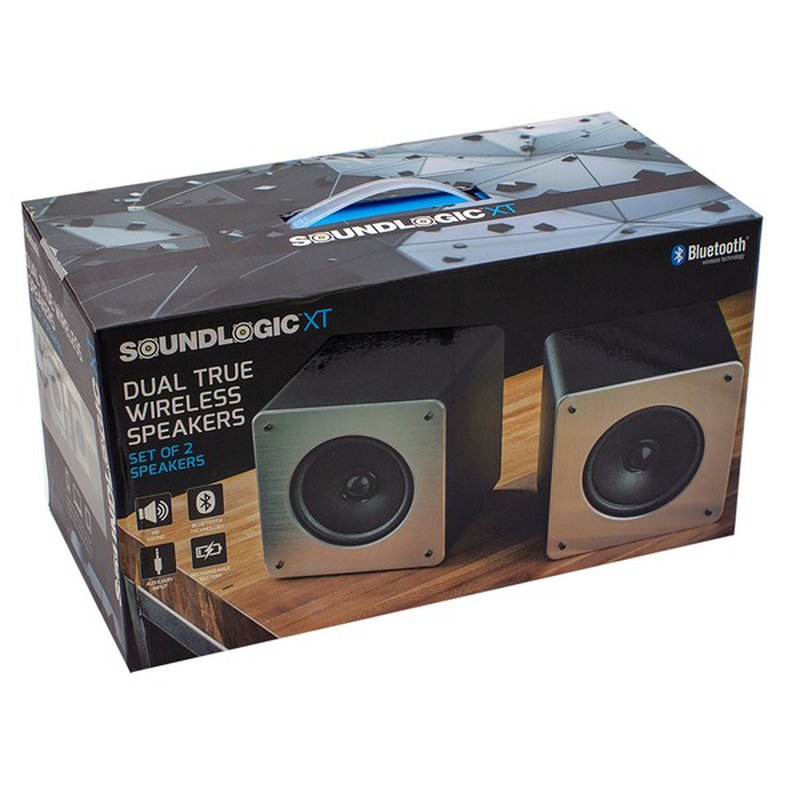 Sound Logic Dual True Wireless Portable Speakers