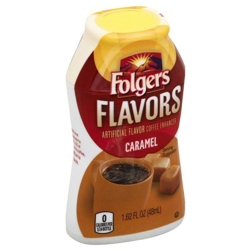 Folgers Flavors Coffee Creamer Caramel (1.62 fl oz ...