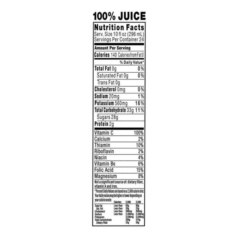 Tropicana Orange 100% Juice (10 fl oz) - Instacart