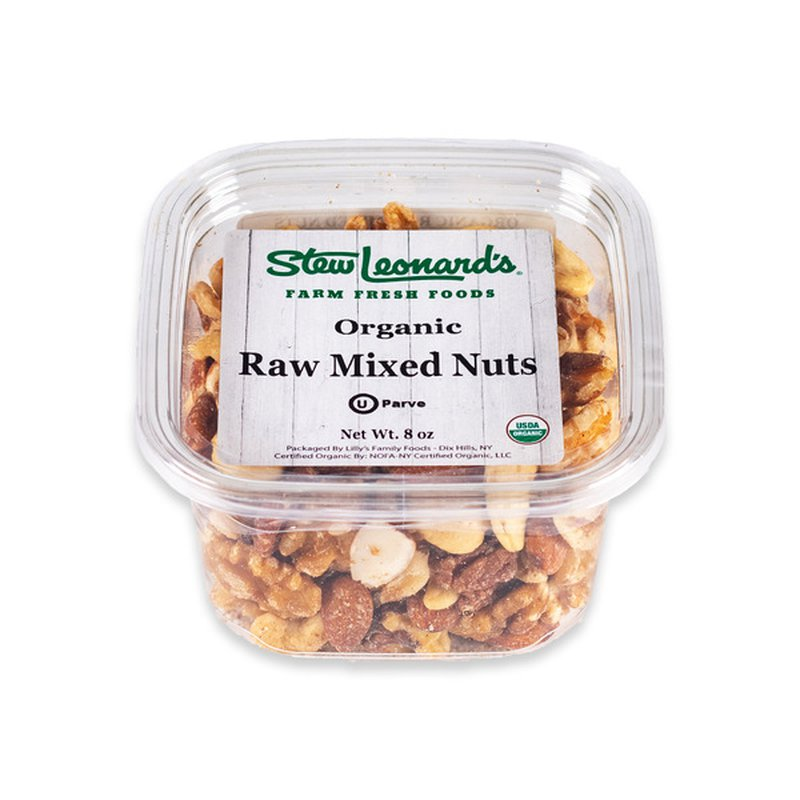 Rita's Pure Earth Organics Raw Organic Mixed Nuts