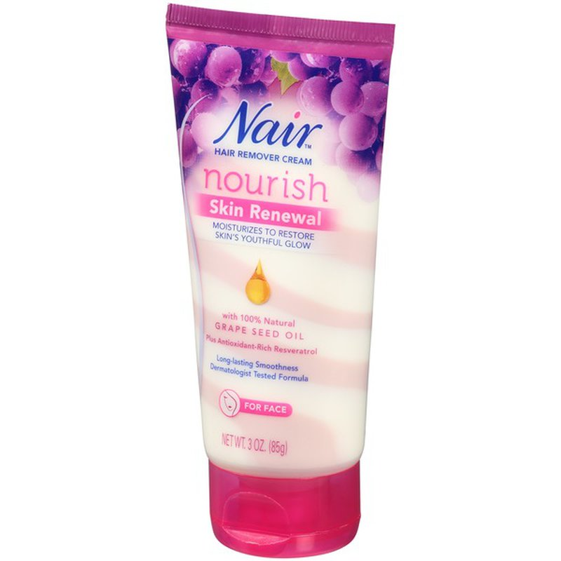 Nair Nourish Skin Renewal Hair Remover Cream 3 Oz Instacart