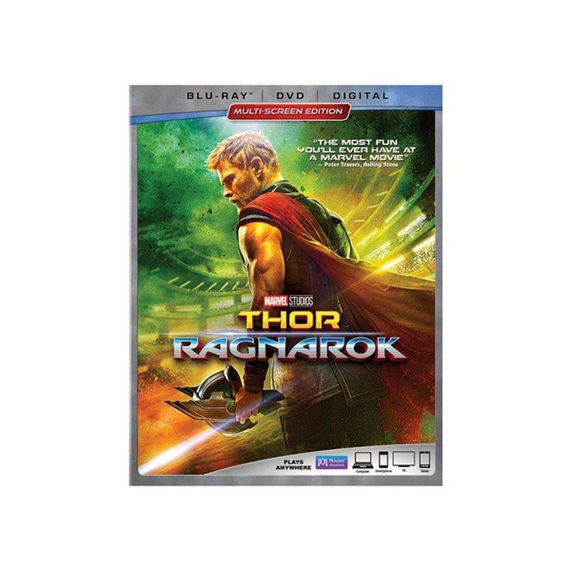 Disney Thor Ragnarok Blu-Ray DVD
