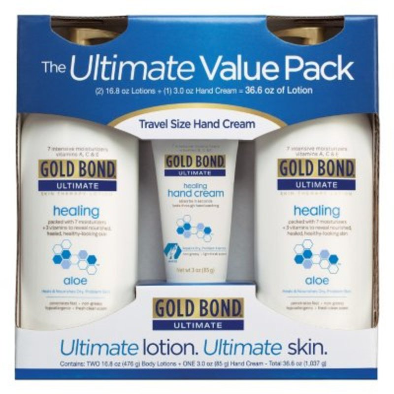 Gold Bond Value Pack Travel Size Ultimate Lotion